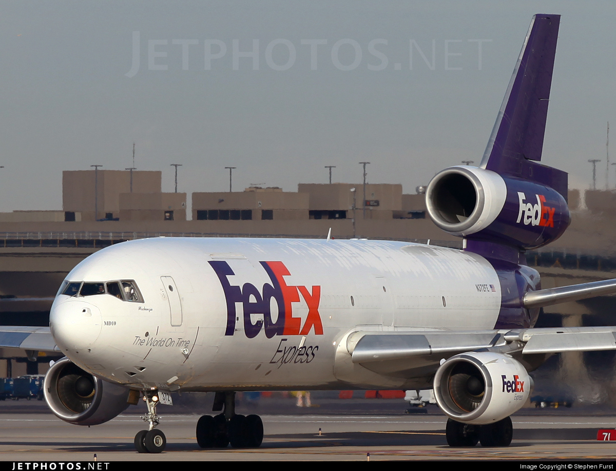 N372FE - McDonnell Douglas MD-10-10(F) - FedEx