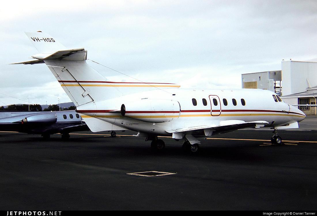 VH-HSS - Hawker Siddeley HS-125-700B - Private