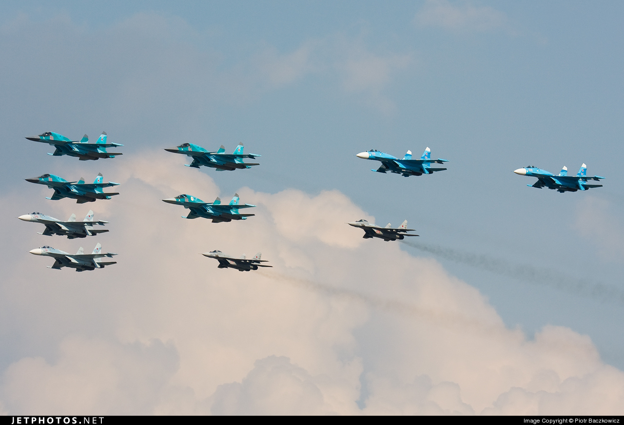 09 - Sukhoi Su-34 Fullback - Russia - Air Force