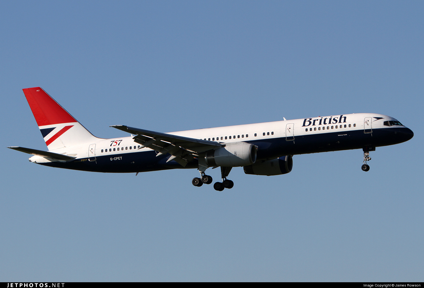 G-CPET - Boeing 757-236 - British Airways