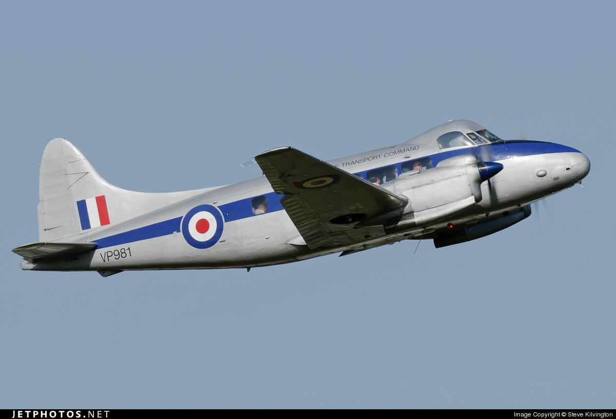 G-DHDV - De Havilland DH-104 Dove 8 - Air Atlantique