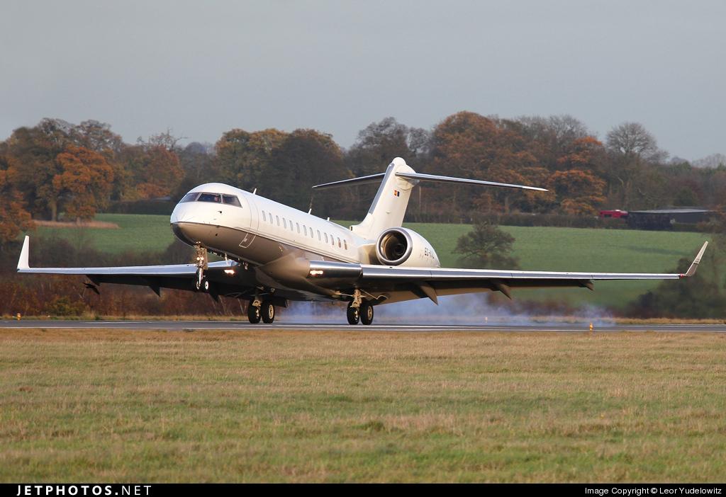 EC-KVU - Bombardier BD-700-1A10 Global Express - TAG Aviation España