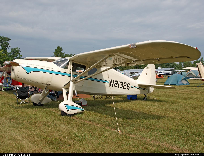 N81326 - Fairchild 24R-46 - Private