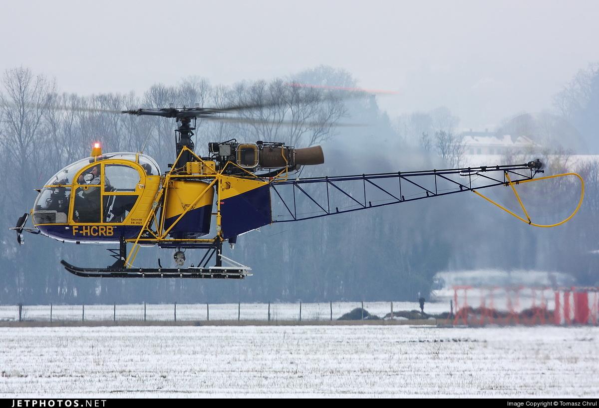 F-HCRB - Aérospatiale SA 315B Lama - Private
