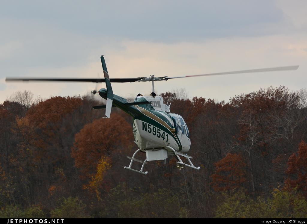 N59541 - Bell 206B JetRanger - English Air Services