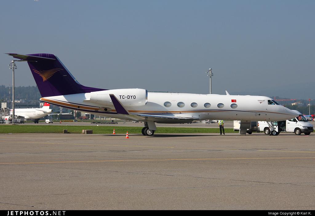 TC-DYO - Gulfstream G450 - Doysa Air