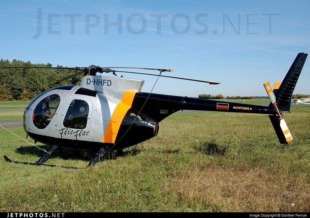 D-HHFD - Hughes 500C - Private