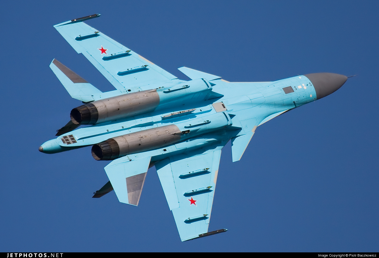 03 - Sukhoi Su-34 Fullback - Russia - Air Force