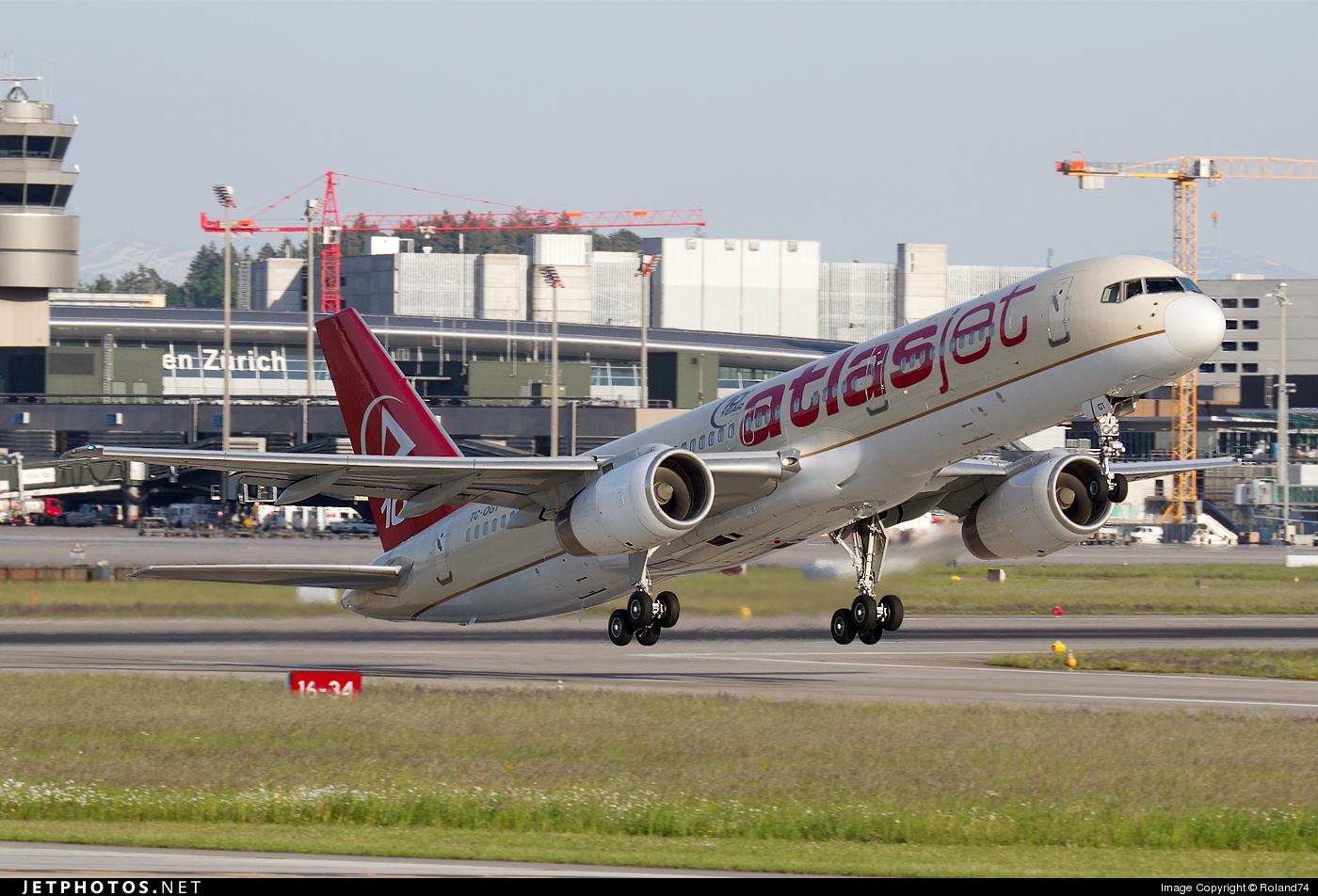 TC-OGT - Boeing 757-256 - AtlasJet