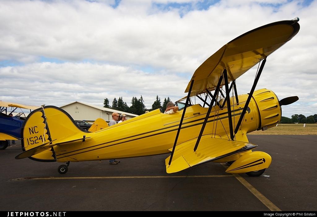 NC15241 - Waco YMF-3  - Private