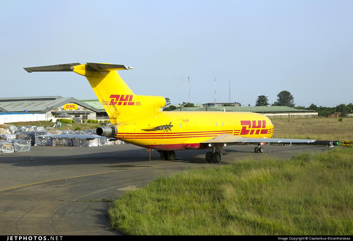 5N-JNR - Boeing 727-217(Adv)(F) - DHL (Allied Air Cargo)