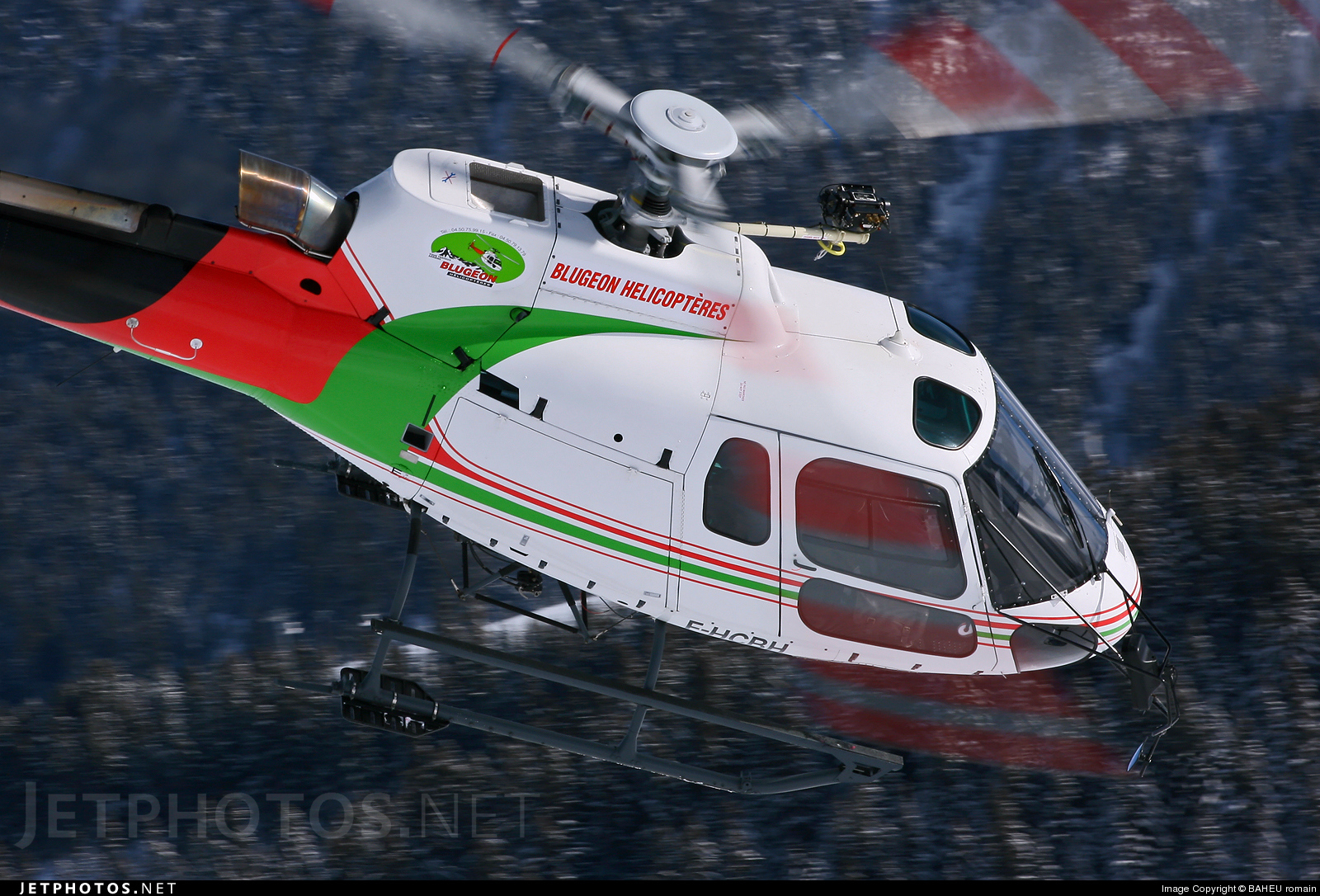 F-HCBH - Eurocopter AS 350B3 Ecureuil - Blugeon Hélicoptères