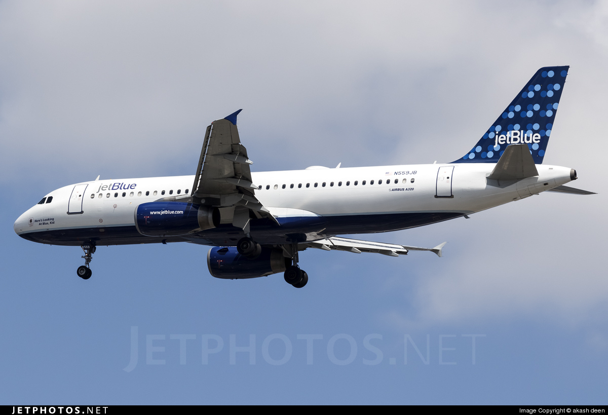 N559JB - Airbus A320-232 - jetBlue Airways