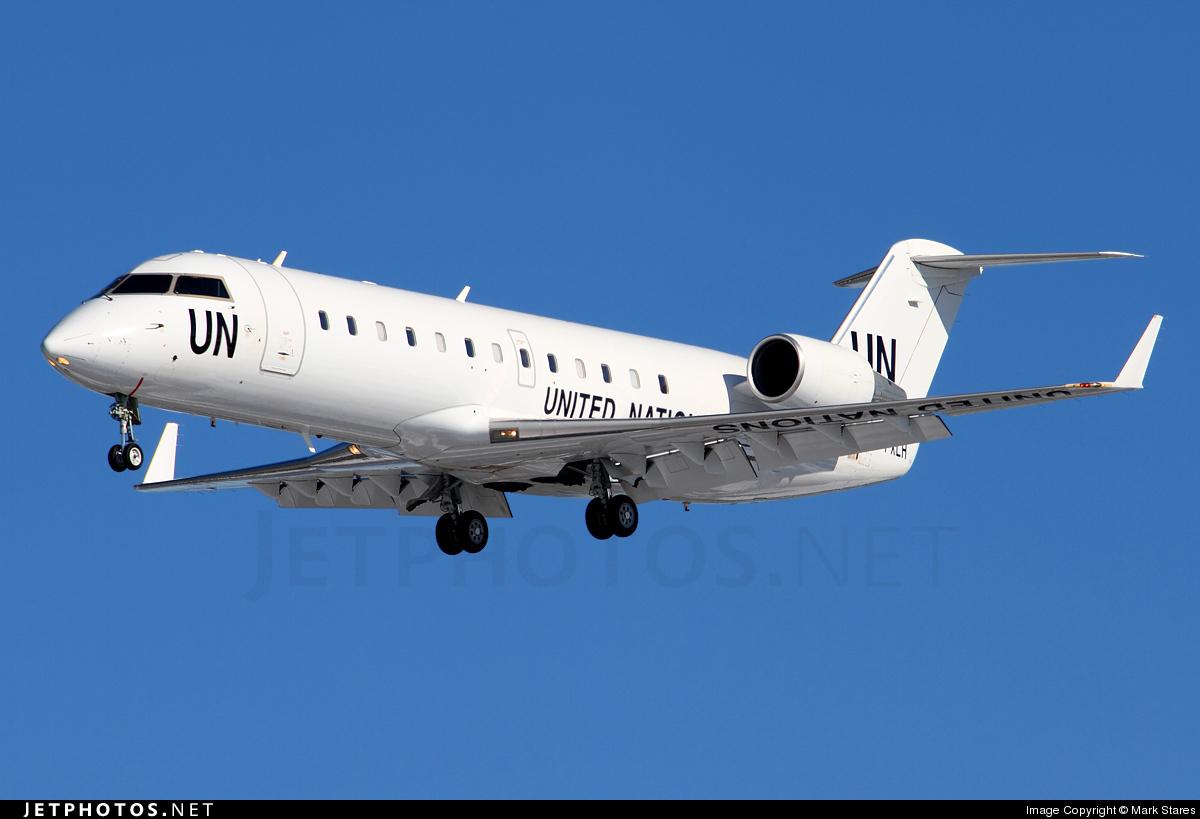 C-FXLH - Bombardier CRJ-200LR - United Nations (Voyageur Airways)