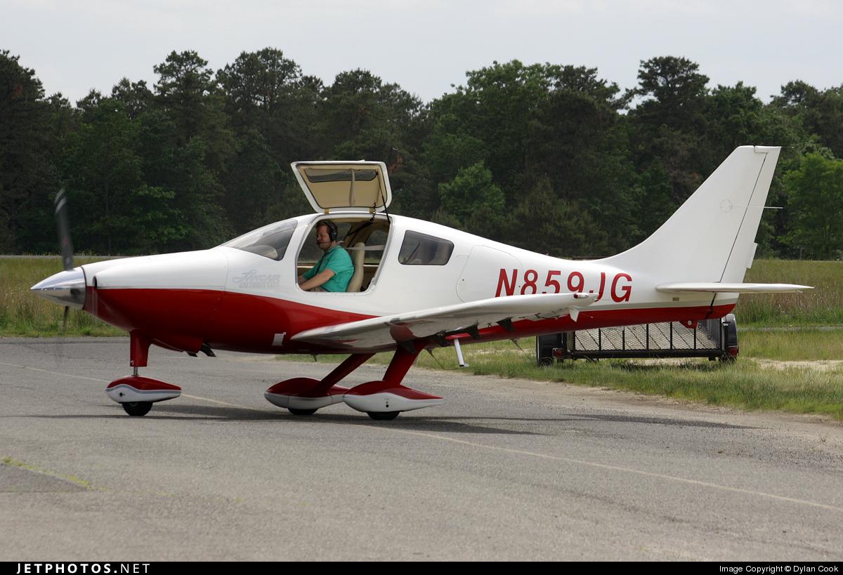 N859JG - Lancair LC42-550FG Columbia 350 - Private
