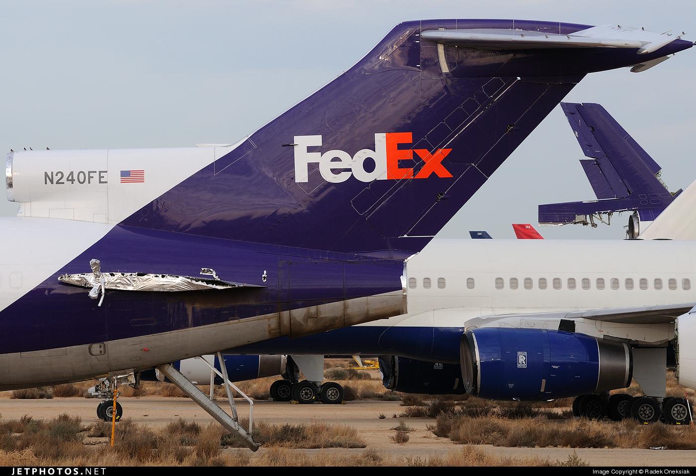 N240FE - Boeing 727-277(Adv)(F) - FedEx