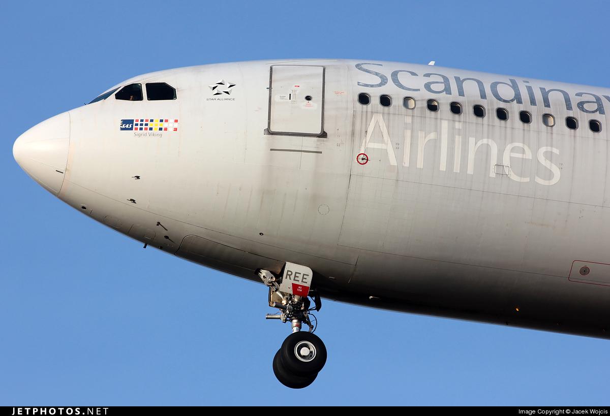 SE-REE - Airbus A330-343 - Scandinavian Airlines (SAS)