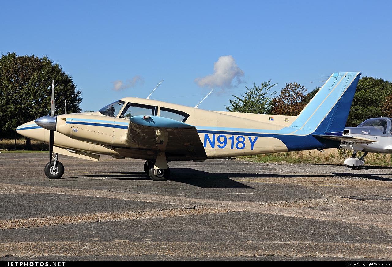 N918Y - Piper PA-30-160 Twin Comanche - Private
