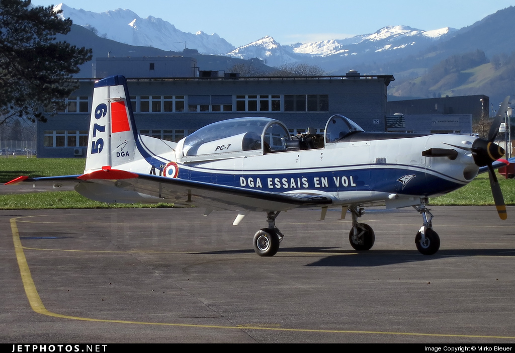 579 - Pilatus PC-7 - France - Direction Generale de l'Aviation Civile