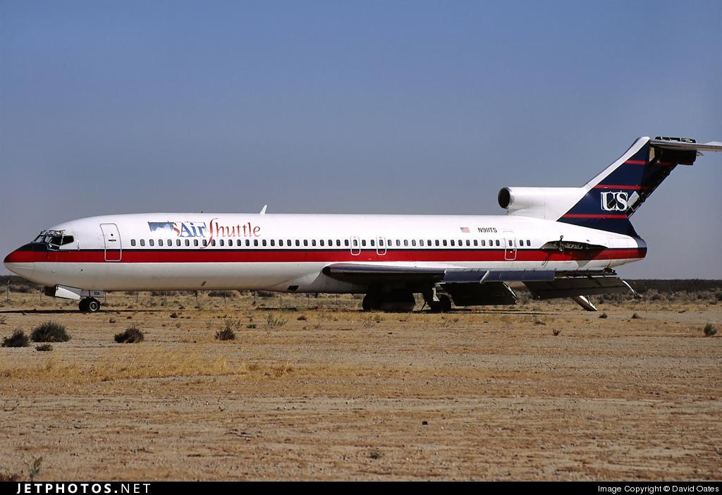 N911TS - Boeing 727-214 - USAir Shuttle