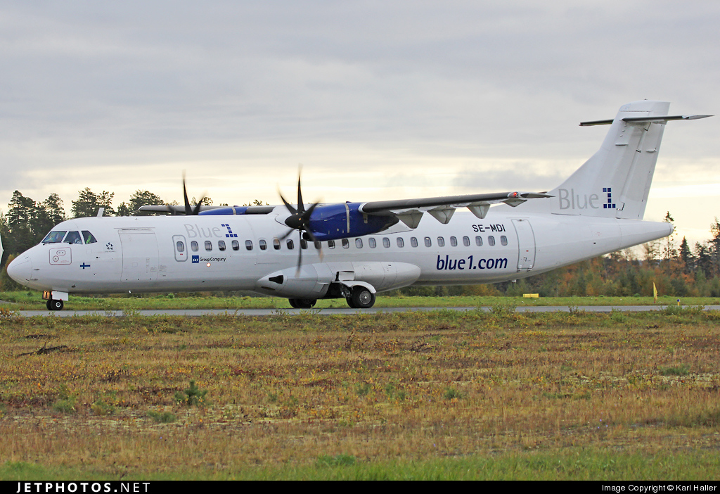 SE-MDI - ATR 72-212A(500) - Blue1 (Golden Air)