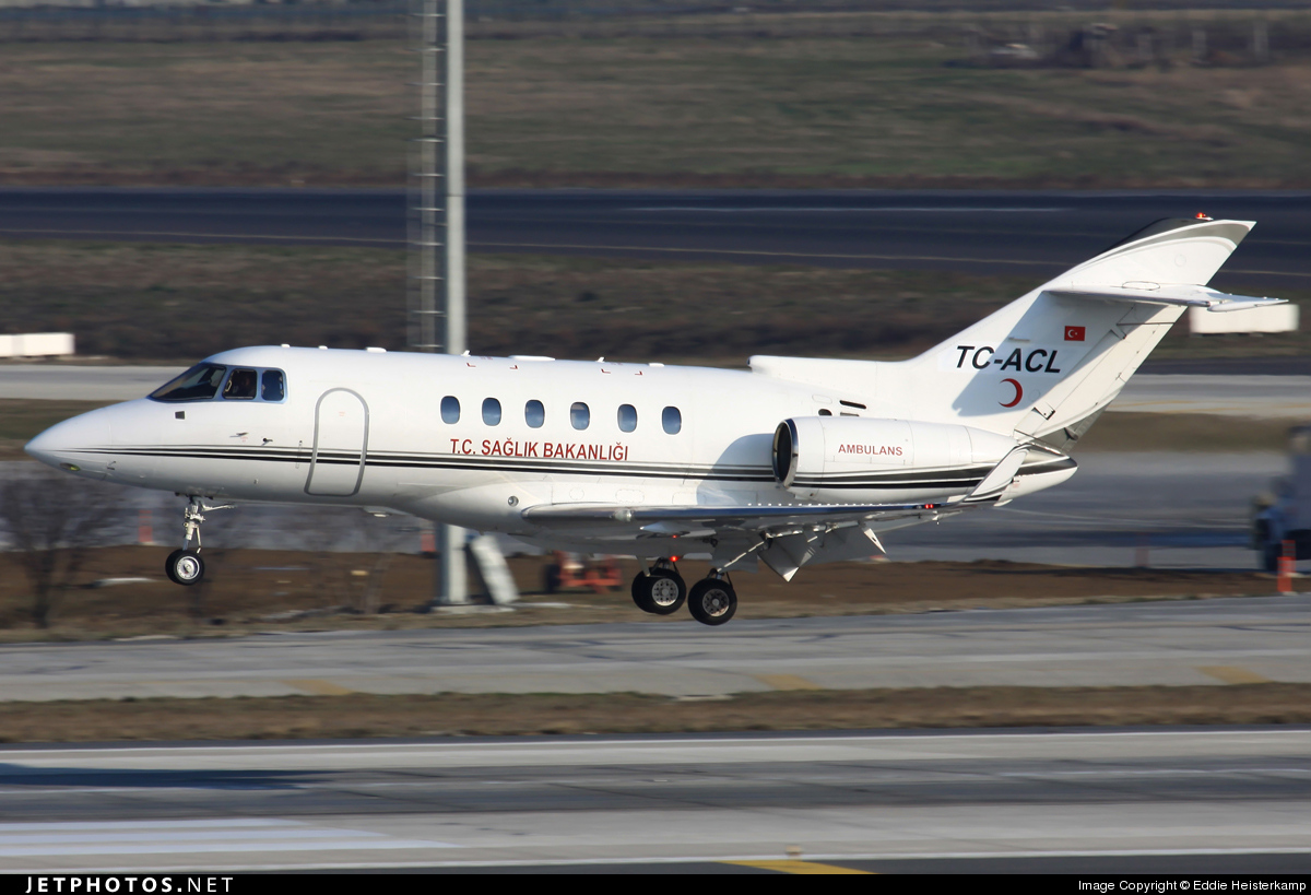 TC-ACL - Raytheon Hawker 900XP - Turkey - Ministry of Health