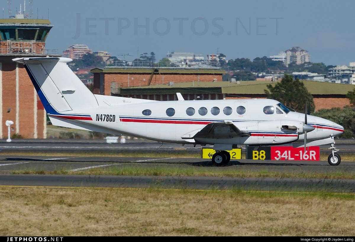 N478GD - Beechcraft B200 Super King Air - Private