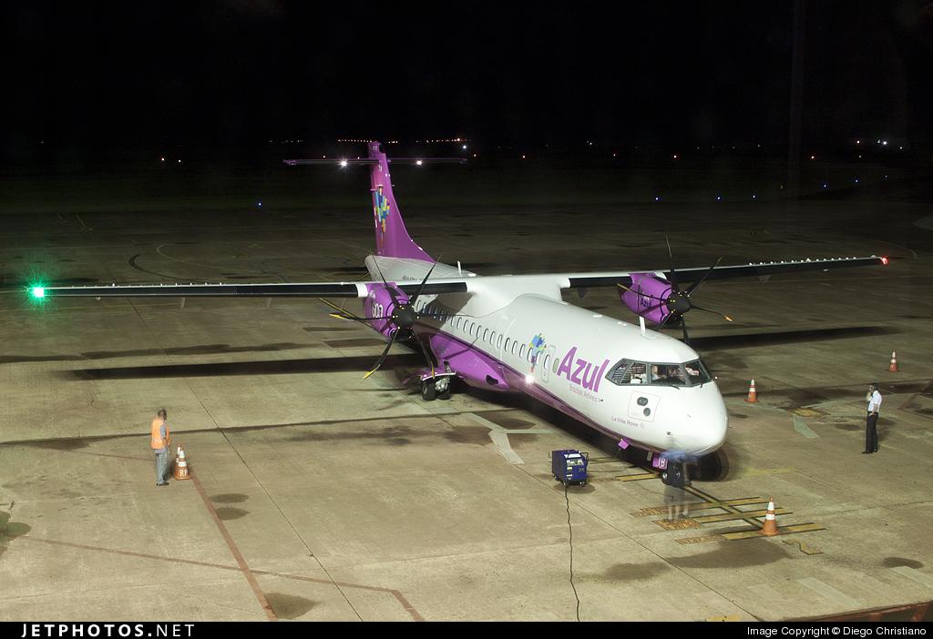 PR-ATB - ATR 72-212A(600) - Azul Linhas Aéreas Brasileiras