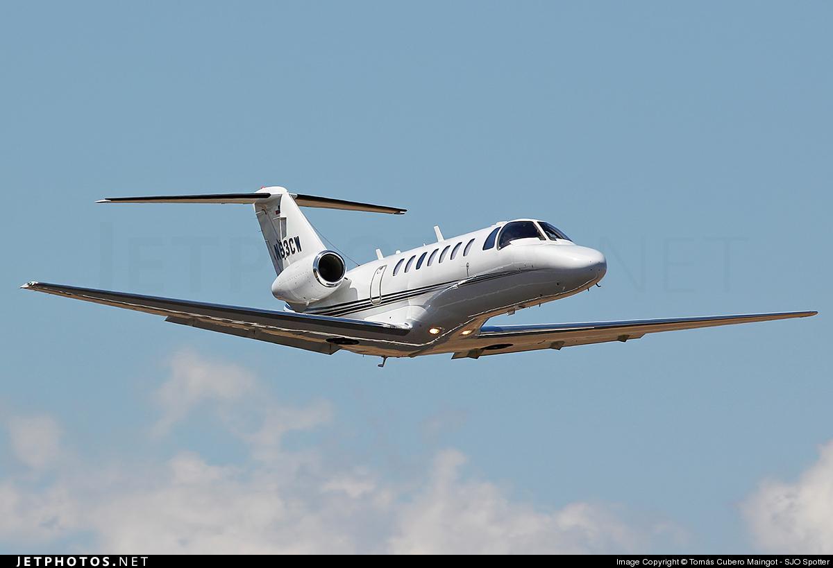 N93CW - Cessna 525B CitationJet 3 - Private