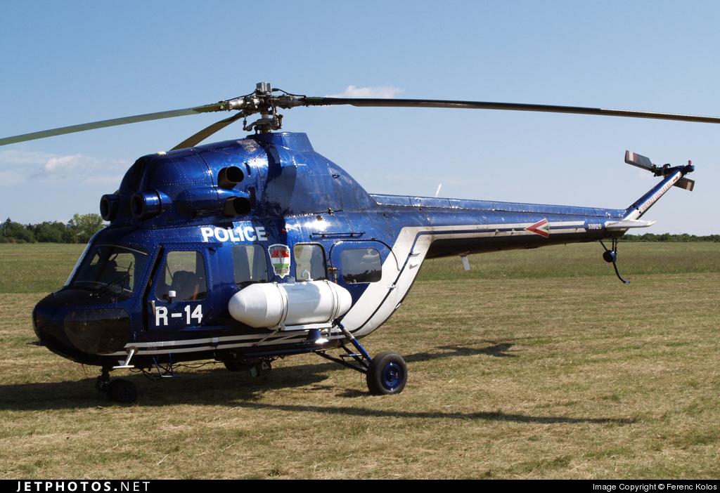 R-14 - PZL-Swidnik Mi-2S Hoplite - Hungary - Police