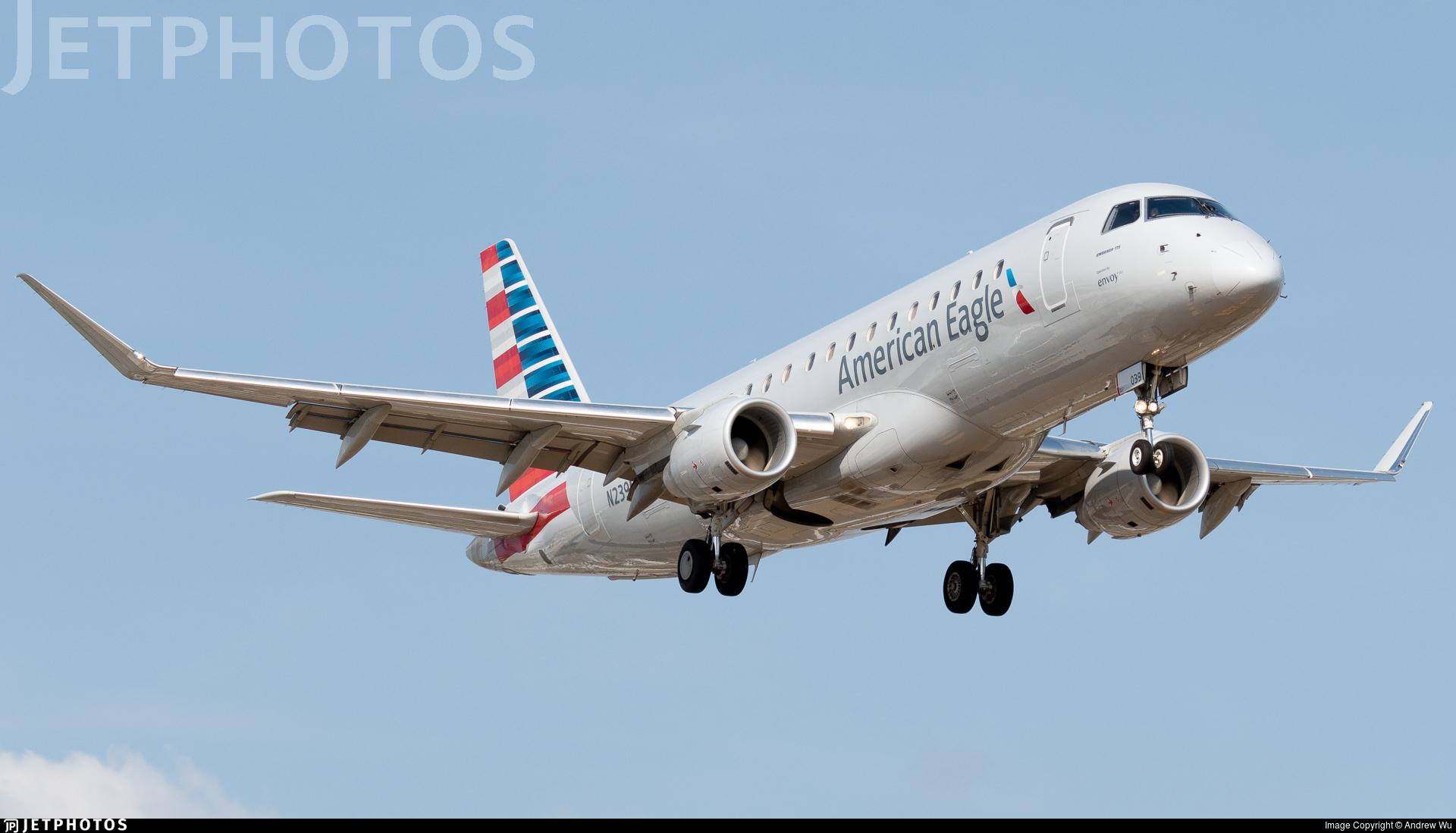 N239NN - Embraer 170-200LR - American Eagle (Envoy Air)