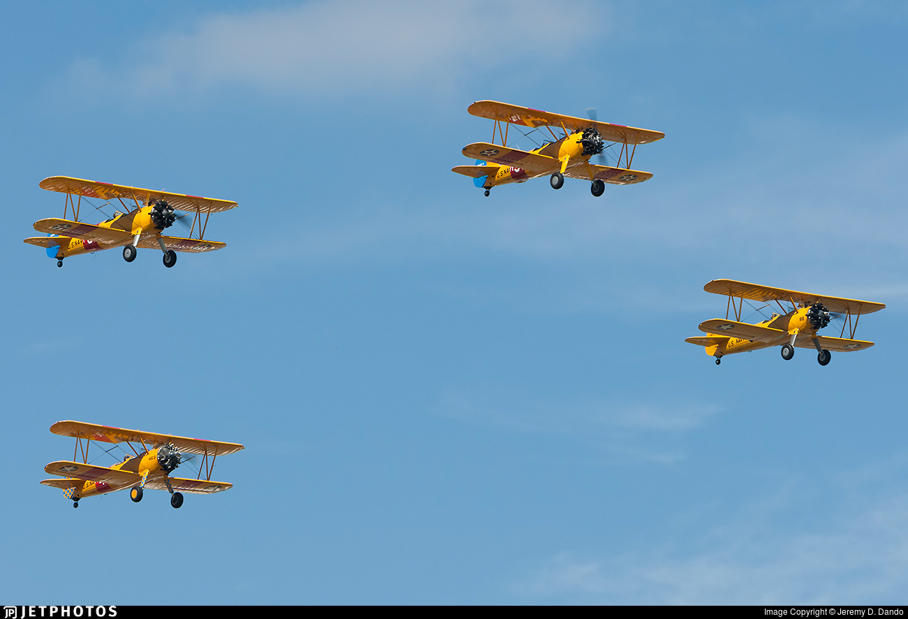 N59901 - Boeing A75N1 Stearman - Private