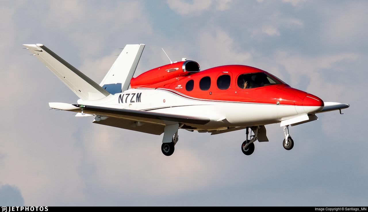 N7ZM - Cirrus Vision SF50 G2 - Private