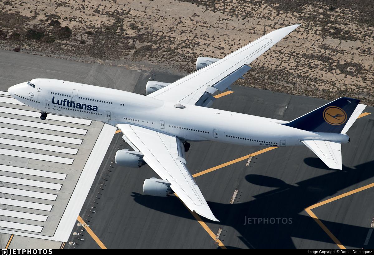 D-ABYQ - Boeing 747-830 - Lufthansa