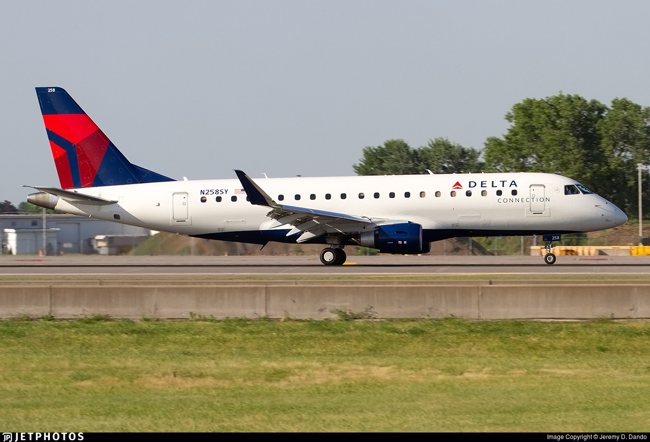 N258SY - Embraer 170-200LR - Delta Connection (SkyWest Airlines)