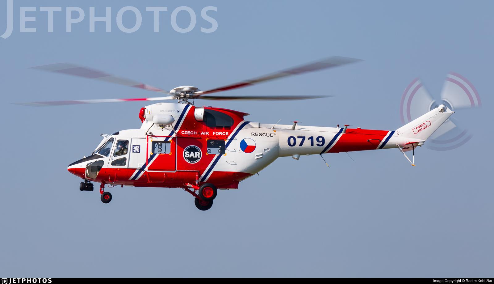 0719 - PZL-Swidnik W3A Sokol - Czech Republic - Air Force