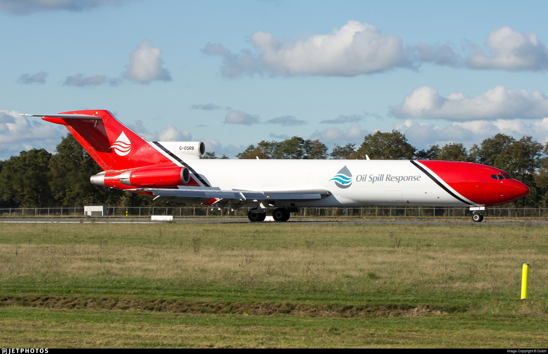 G-OSRB - Boeing 727-2S2F(Adv)  - T2 Aviation