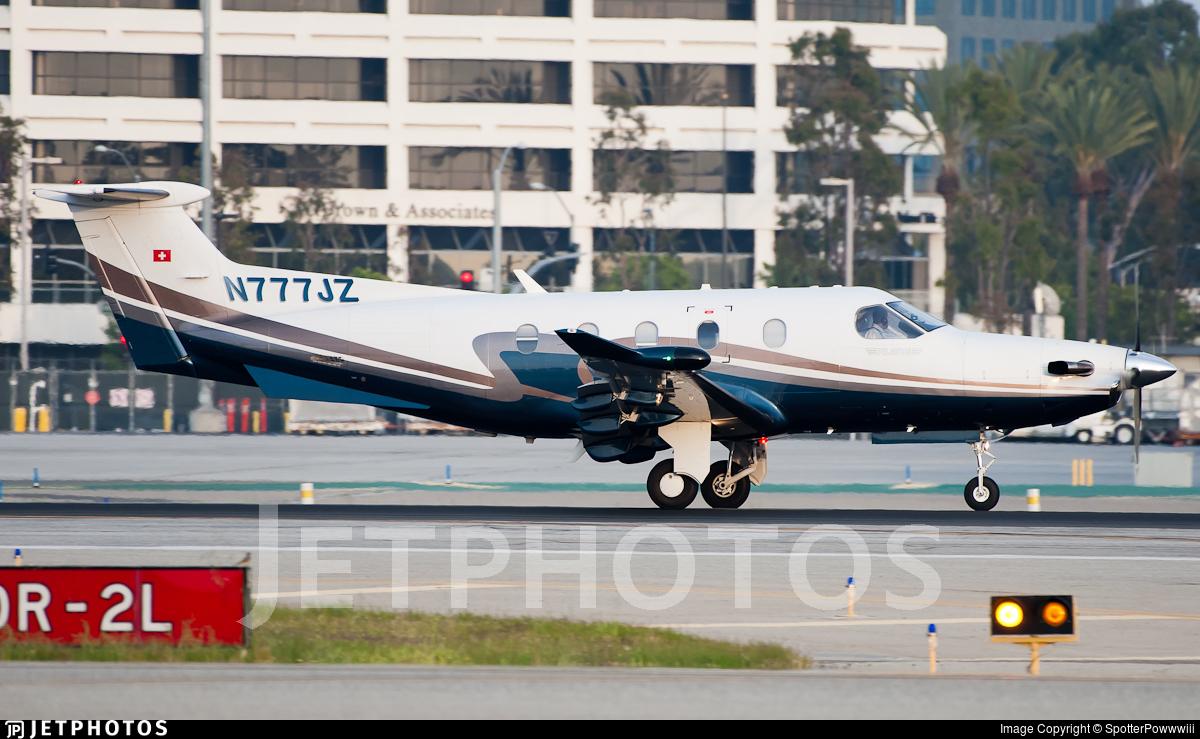 N777JZ - Pilatus PC-12/47 - Private