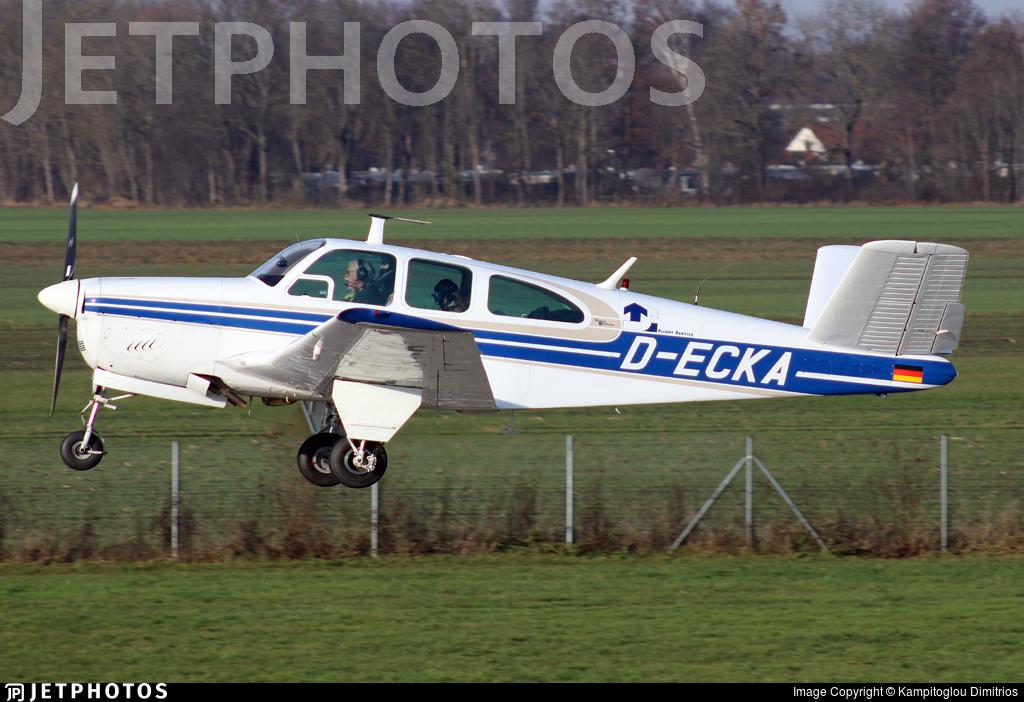 D-ECKA - Beechcraft P35 Bonanza - Private