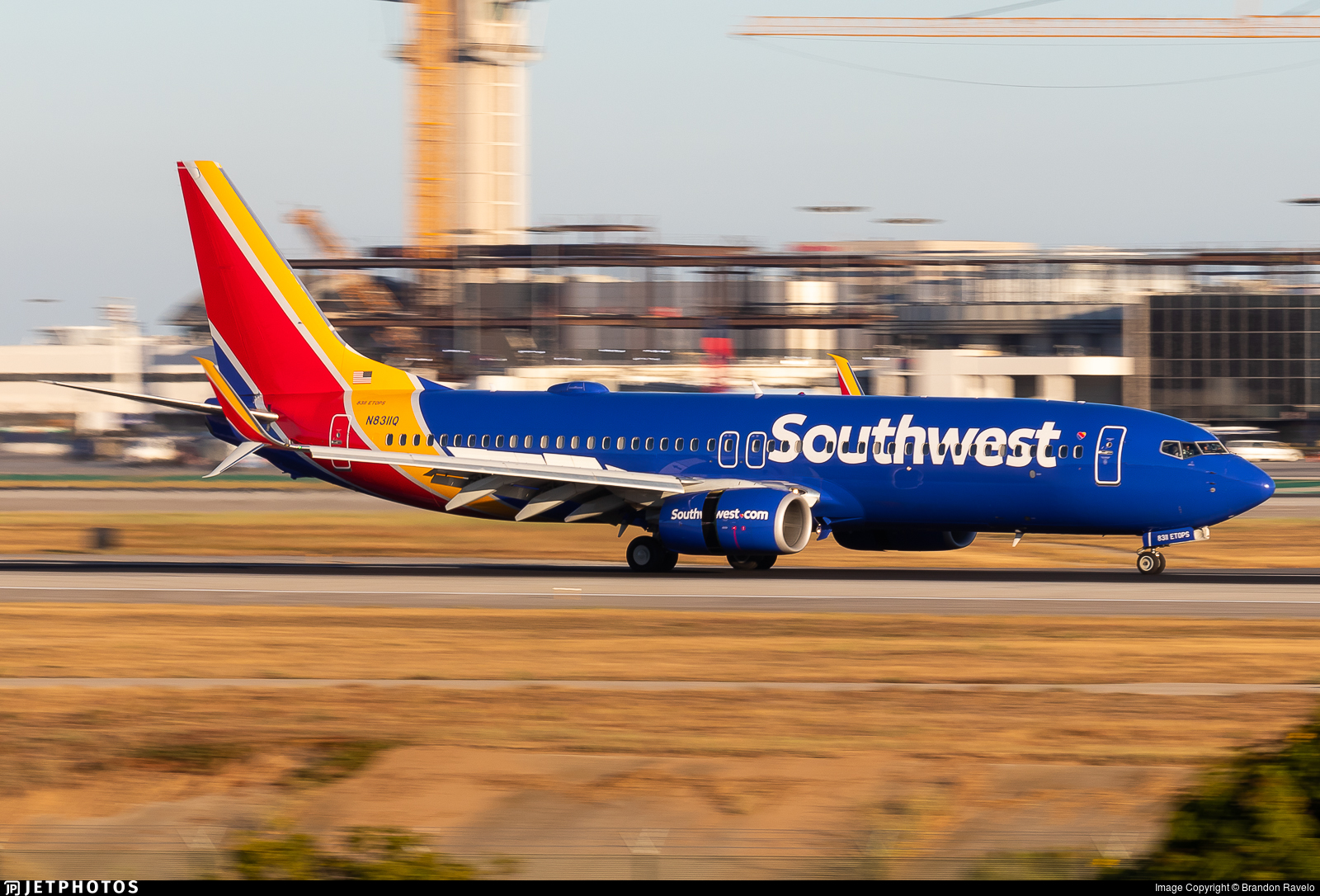N8311Q - Boeing 737-8H4 - Southwest Airlines