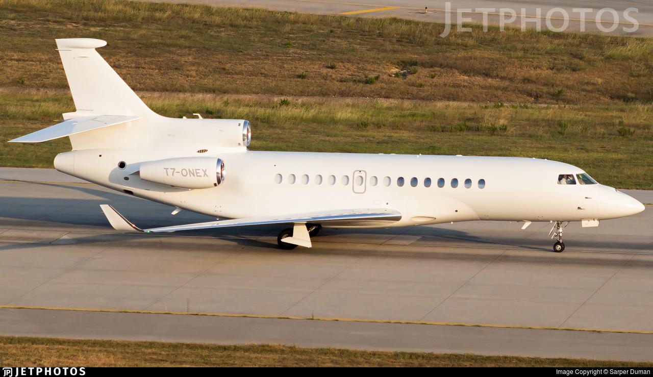 T7-ONEX - Dassault Falcon 8X - Private
