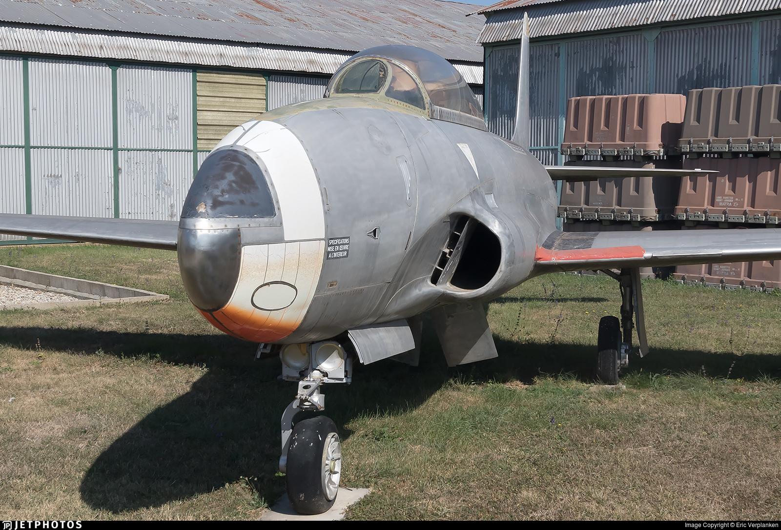 52-1113 - Canadair CT-133 Silver Star - France - Air Force