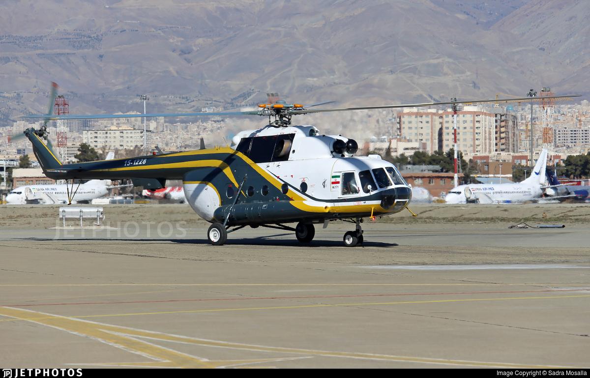 15-1228 - Mil Mi-171Sh Baikal - Iran - Revolutionary Guard