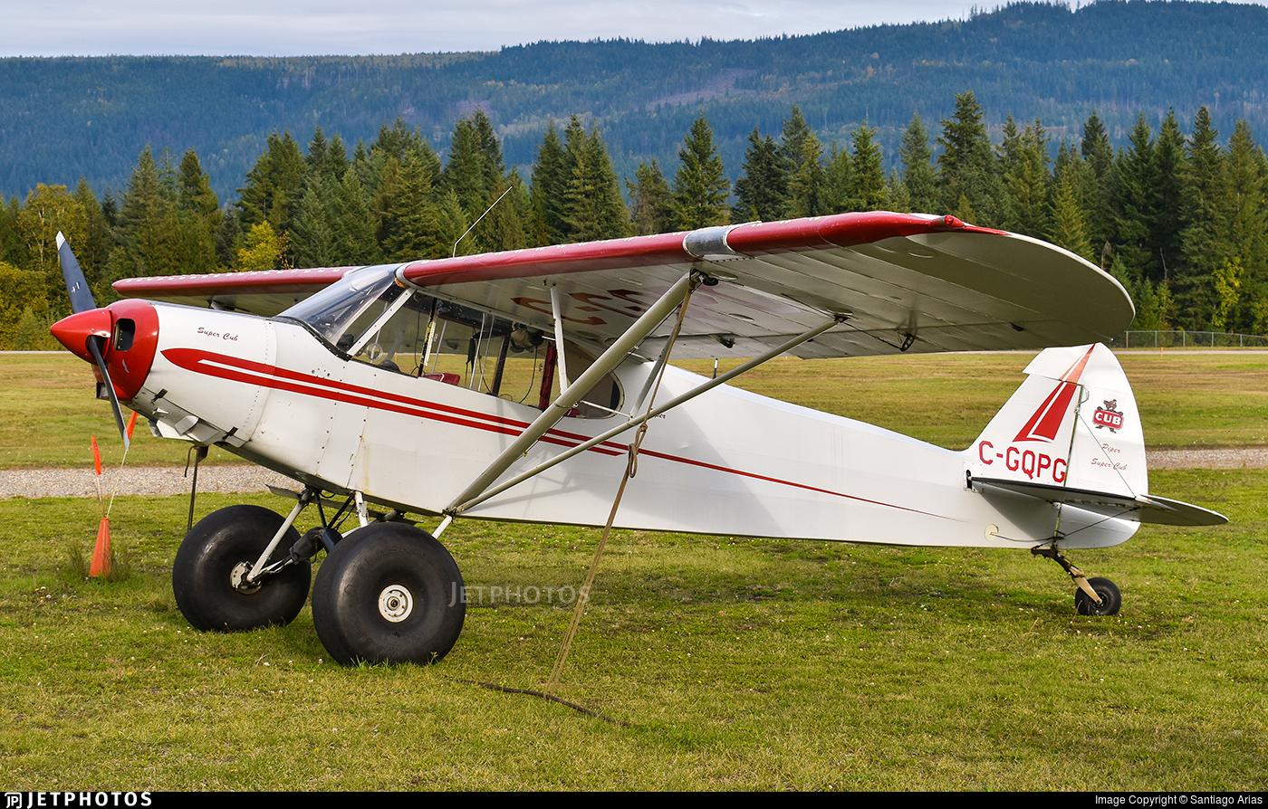 C-GQPG - Piper PA-18-125 Super Cub - Private