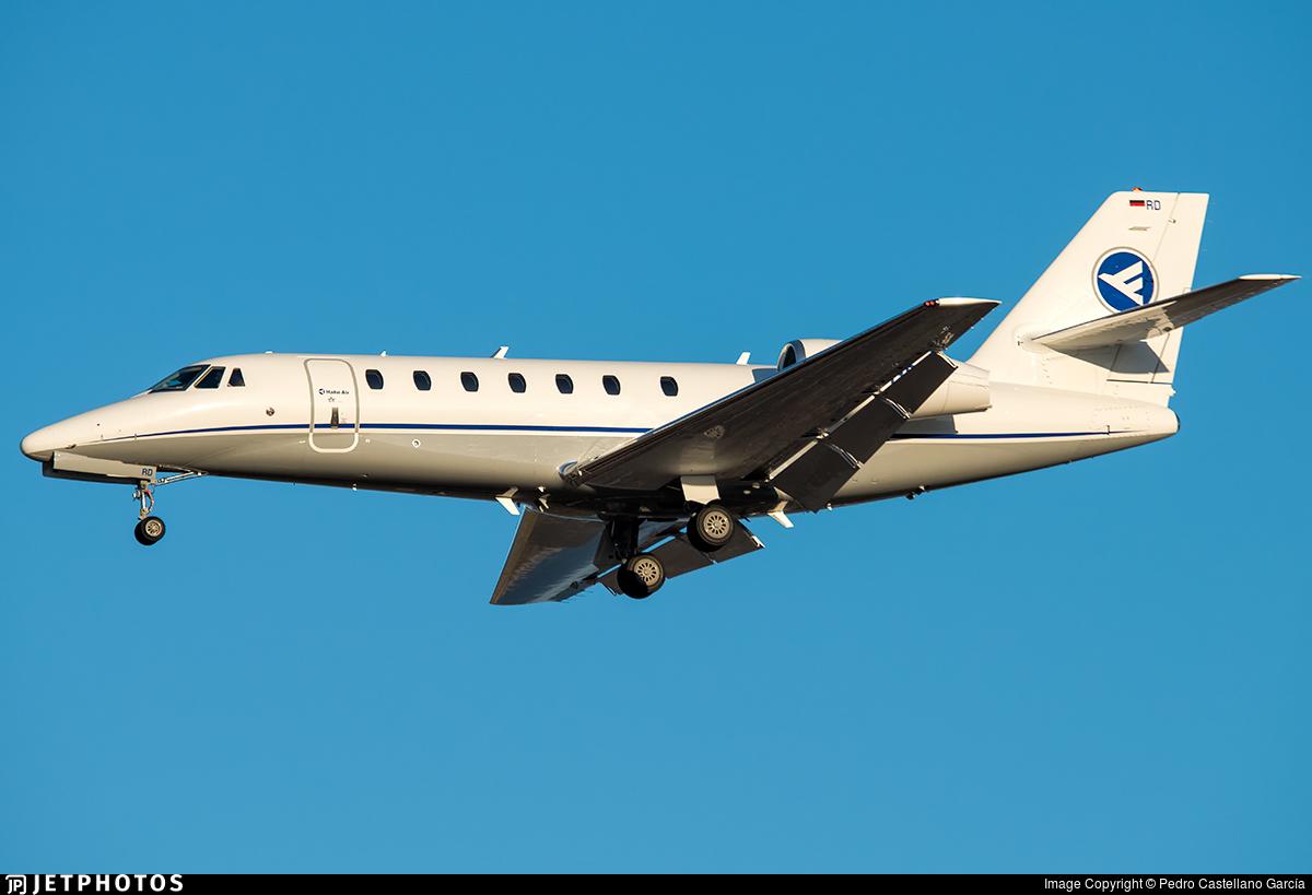 D-CHRD - Cessna 680 Citation Sovereign - Hahn Air