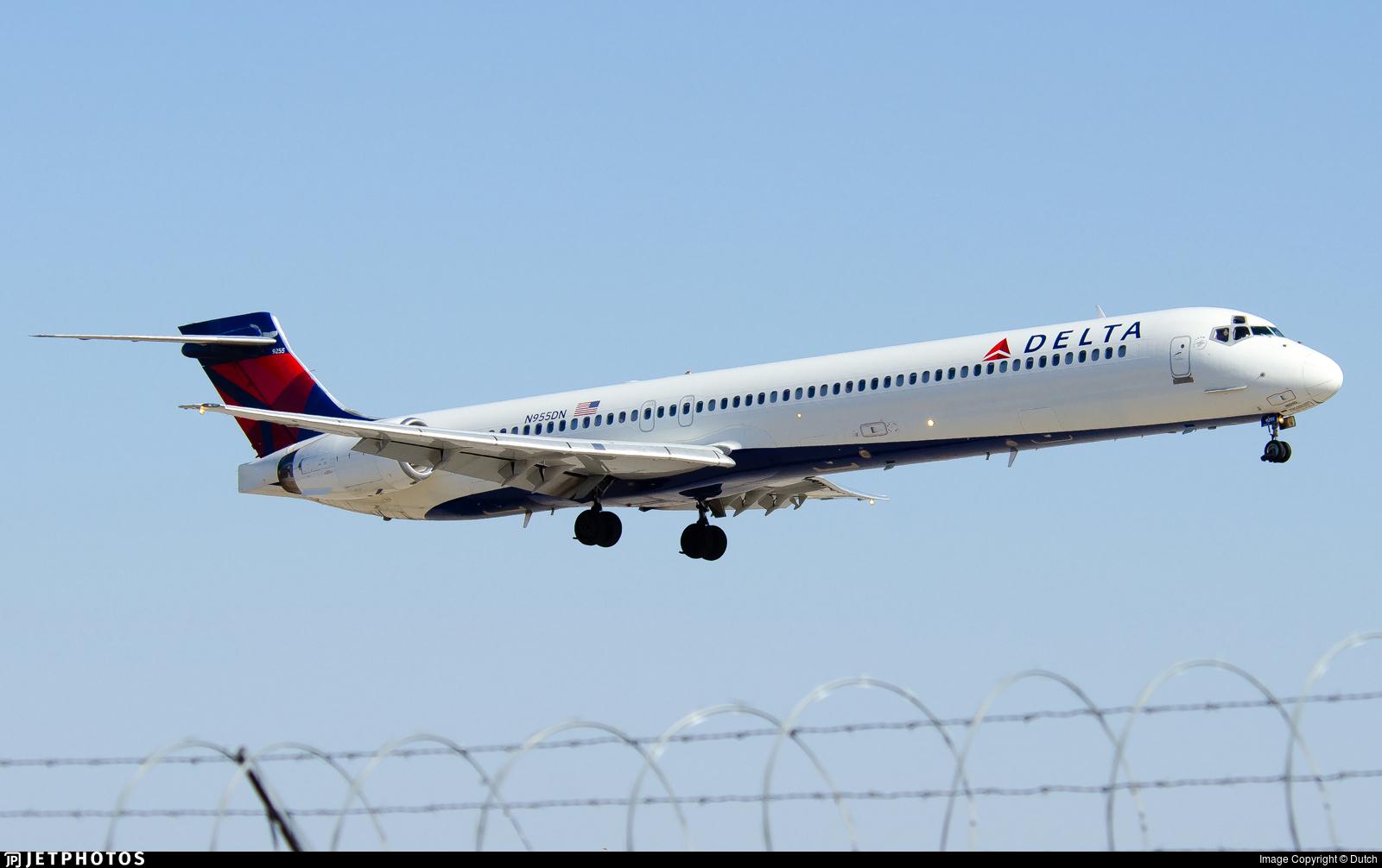 N955DN - McDonnell Douglas MD-90-30 - Delta Air Lines