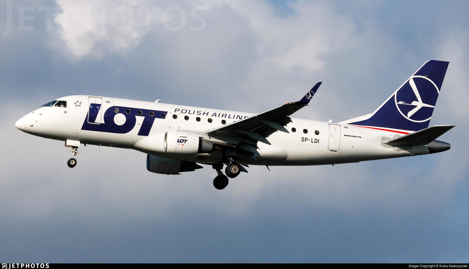 SP-LDI - Embraer 170-100STD - LOT Polish Airlines