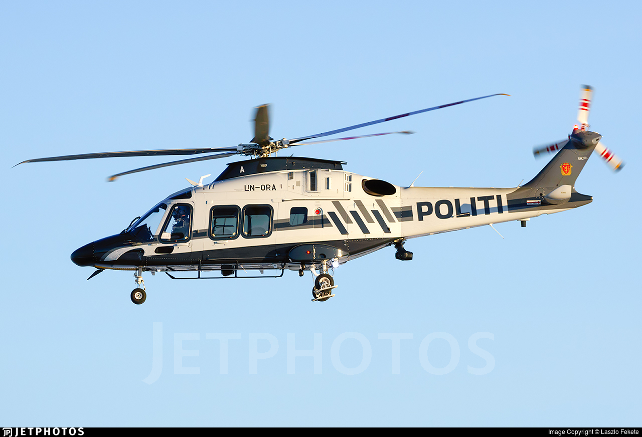 LN-ORA - Agusta-Westland AW-169 - Norway - Police