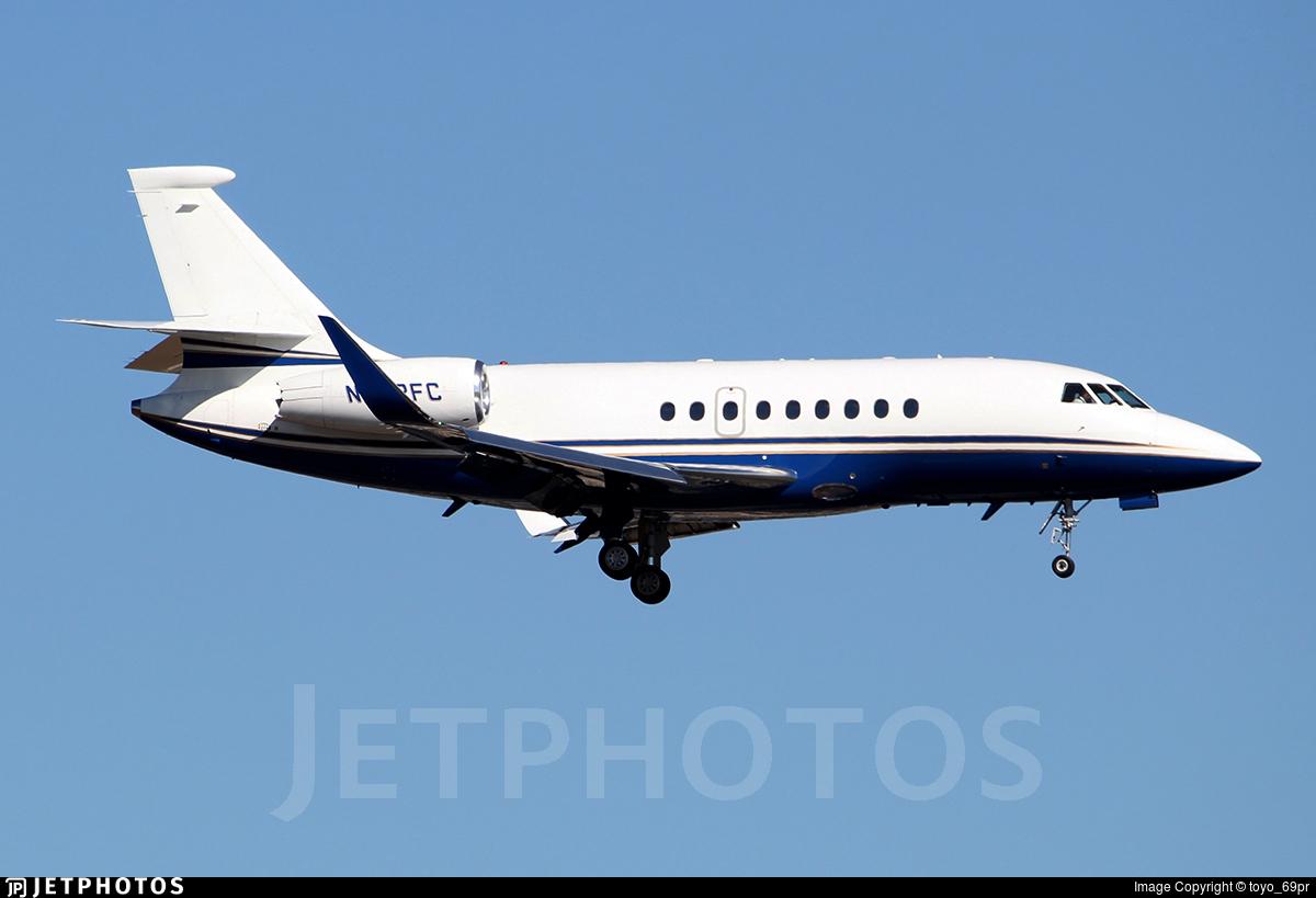 N272FC - Dassault Falcon 2000EX - Private