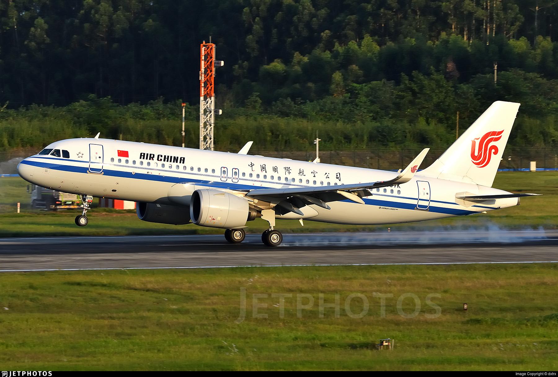 B-307K - Airbus A320-271N - Air China